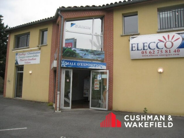 Location commerce Aucamville Cushman & Wakefield