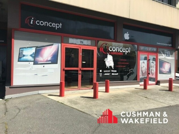 Location commerce Toulouse Cushman & Wakefield