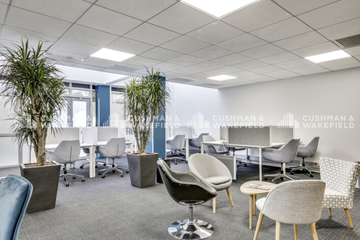Location bureau privé Boulogne-Billancourt Cushman & Wakefield