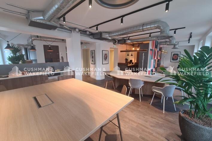 Location bureau privé Paris 1 Cushman & Wakefield