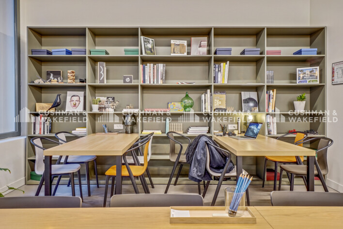 Location coworking Paris 2 Cushman & Wakefield