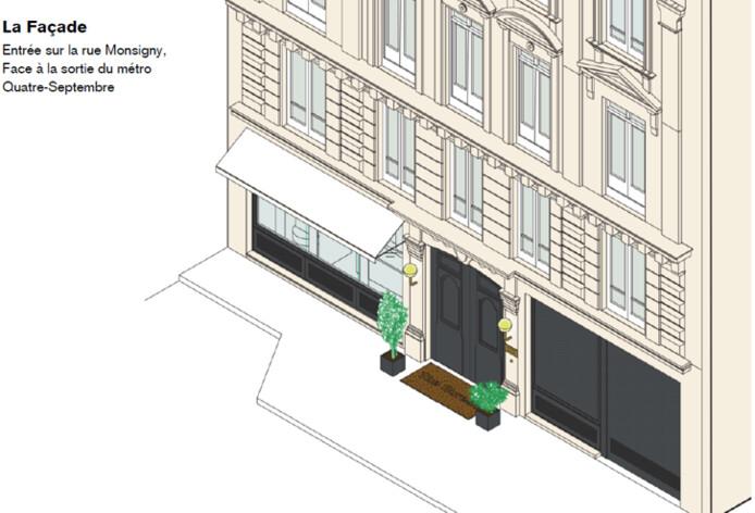 Location bureau privé Paris 2 Cushman & Wakefield
