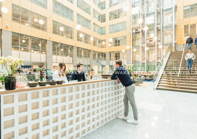 Location bureau privé Paris 13 Cushman & Wakefield
