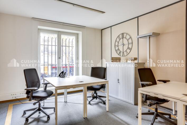 Location bureau privé Paris 16 Cushman & Wakefield