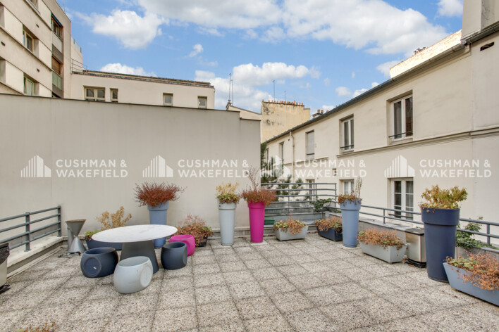 Location coworking Paris 17 Cushman & Wakefield