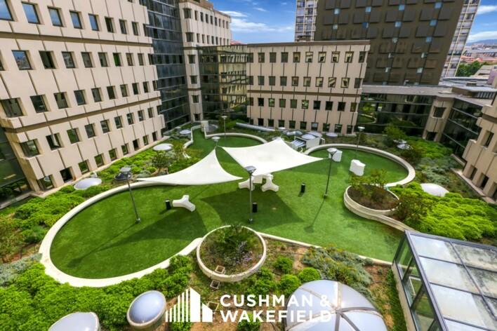 Vente bureaux Marseille 1 Cushman & Wakefield