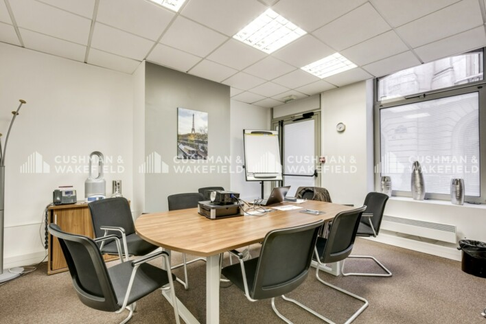 Location bureau privé Paris 8 Cushman & Wakefield