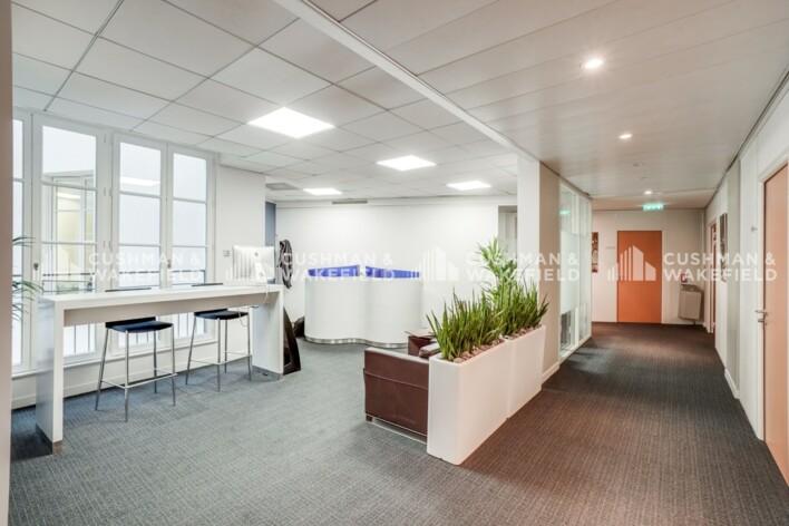 Location bureau privé Paris 6 Cushman & Wakefield