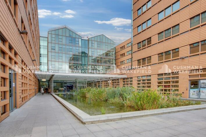 Location bureau privé Paris 19 Cushman & Wakefield