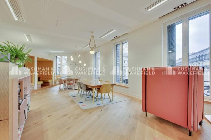 Location bureau privé Paris 9 Cushman & Wakefield