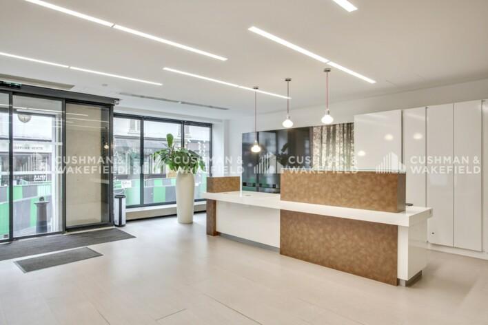 Location bureau privé Paris 17 Cushman & Wakefield