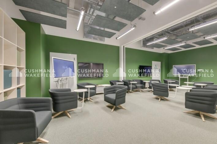 Location bureau privé Paris 18 Cushman & Wakefield