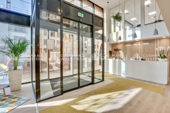 Location bureau privatif Lyon 7 Cushman & Wakefield
