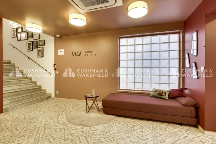 Location bureau privé Clichy Cushman & Wakefield