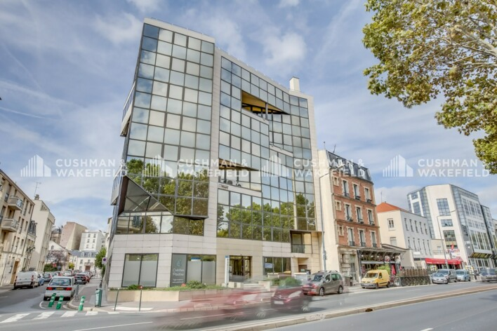 Location bureaux Asnières-sur-Seine Cushman & Wakefield