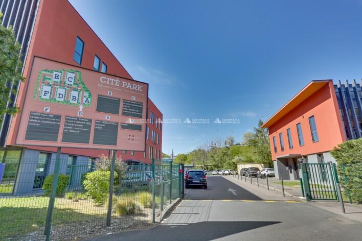 Location bureaux Caluire-et-Cuire Cushman & Wakefield