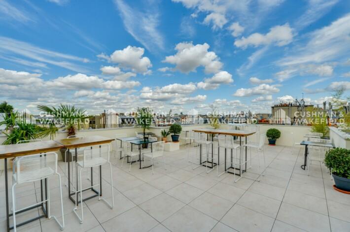 Location bureau privé Paris 14 Cushman & Wakefield