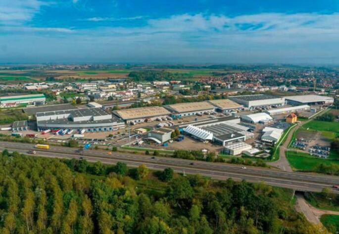 Location entrepôts / activité Brumath Cushman & Wakefield