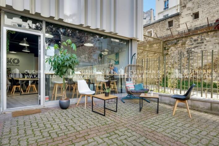 Location bureau privé Paris 11 Cushman & Wakefield