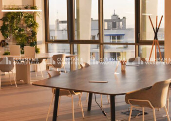 Location coworking Issy-les-Moulineaux Cushman & Wakefield