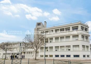 Location bureaux Gennevilliers Cushman & Wakefield