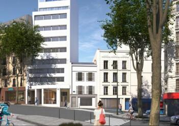 Location commerce Paris 18 Cushman & Wakefield